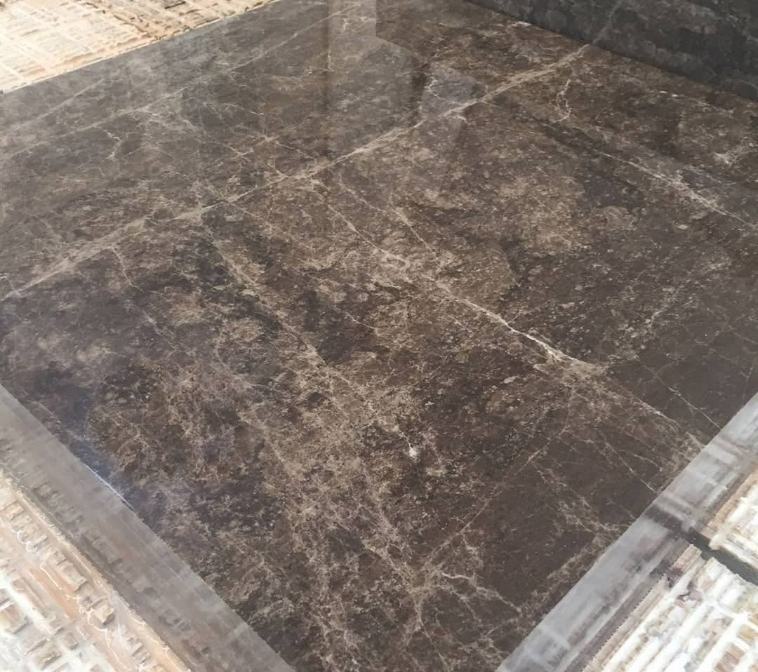 Dark Emperador Marble Polished Tiles Brown Marble Flooring Tiles