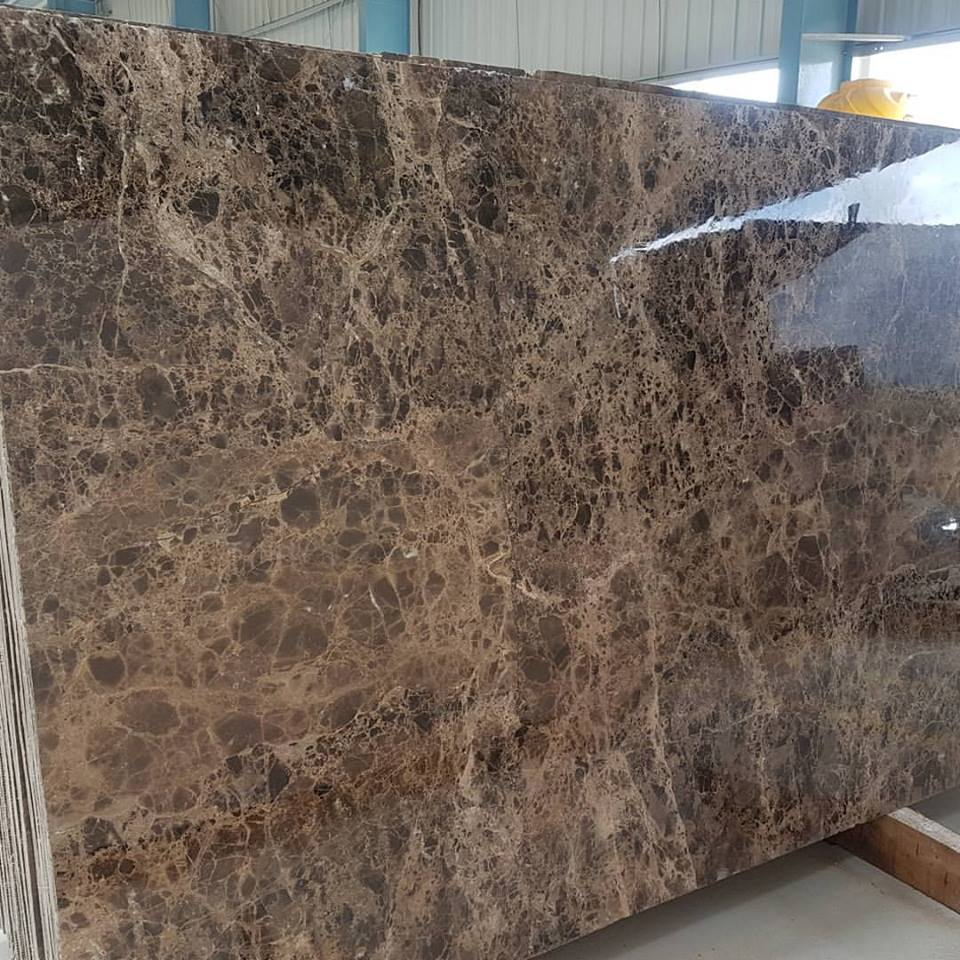 Dark Emperador Marble Slabs Polished Brown Marble Slabs