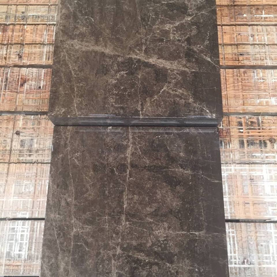 Dark Emperador Marble Tiles Brown Turkish Marble Stone Flooring Tiles