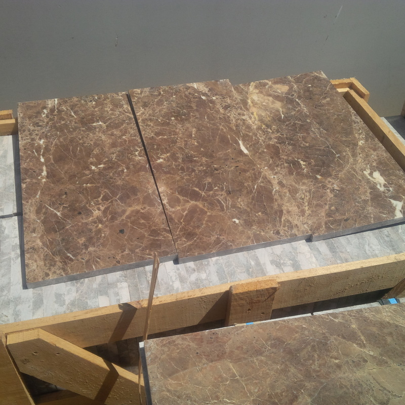Dark Emperador Marble Tiles Turkish Brown Marble Stone Tiles