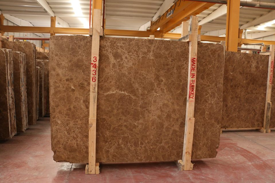 Dark Emperador Polished Marble Slabs Brown Marble Slabs