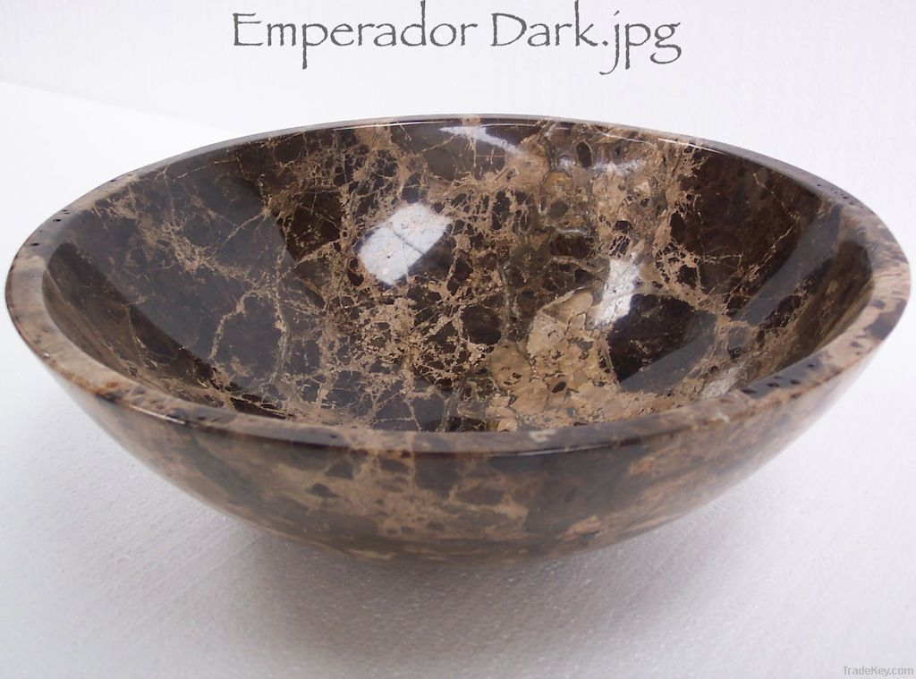 Dark Emperador Wash Basin