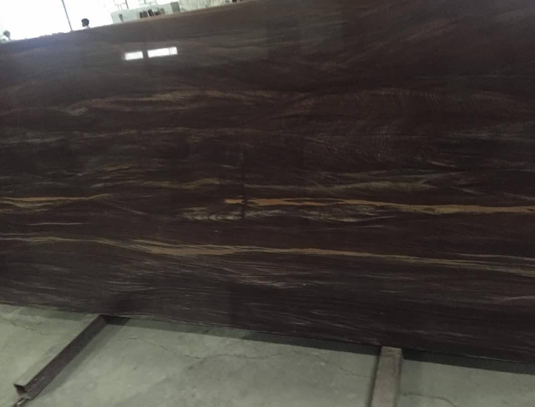 Dark Fantasy Quartzite Slabs Polished Quartzite Slabs from India