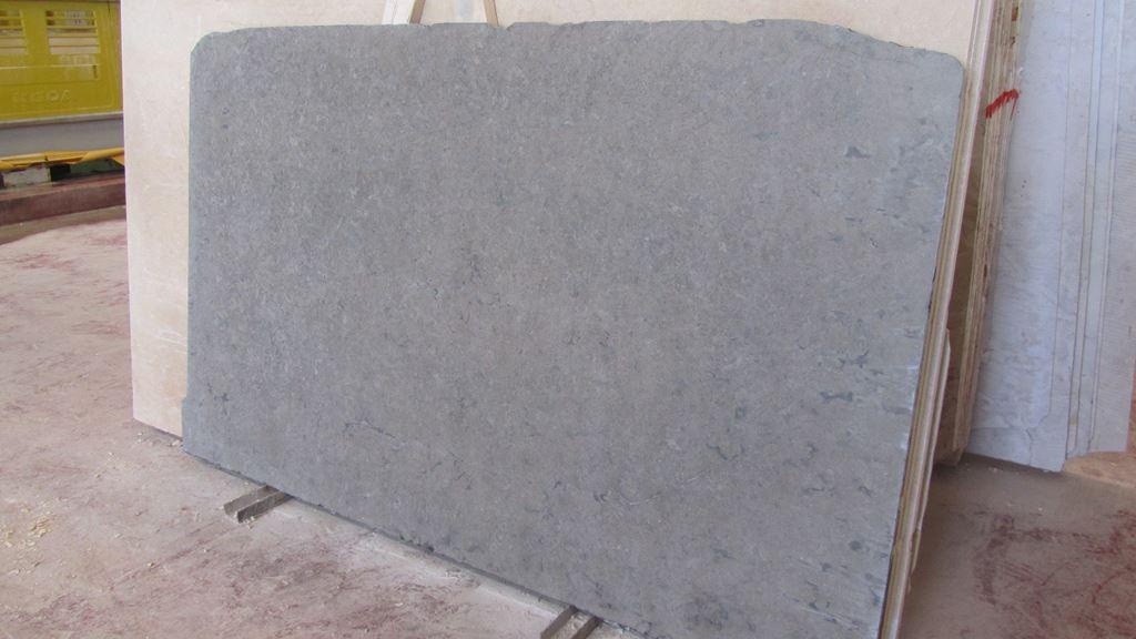 Deep Blue Limestone Slab Israel Grey Limestone Slabs