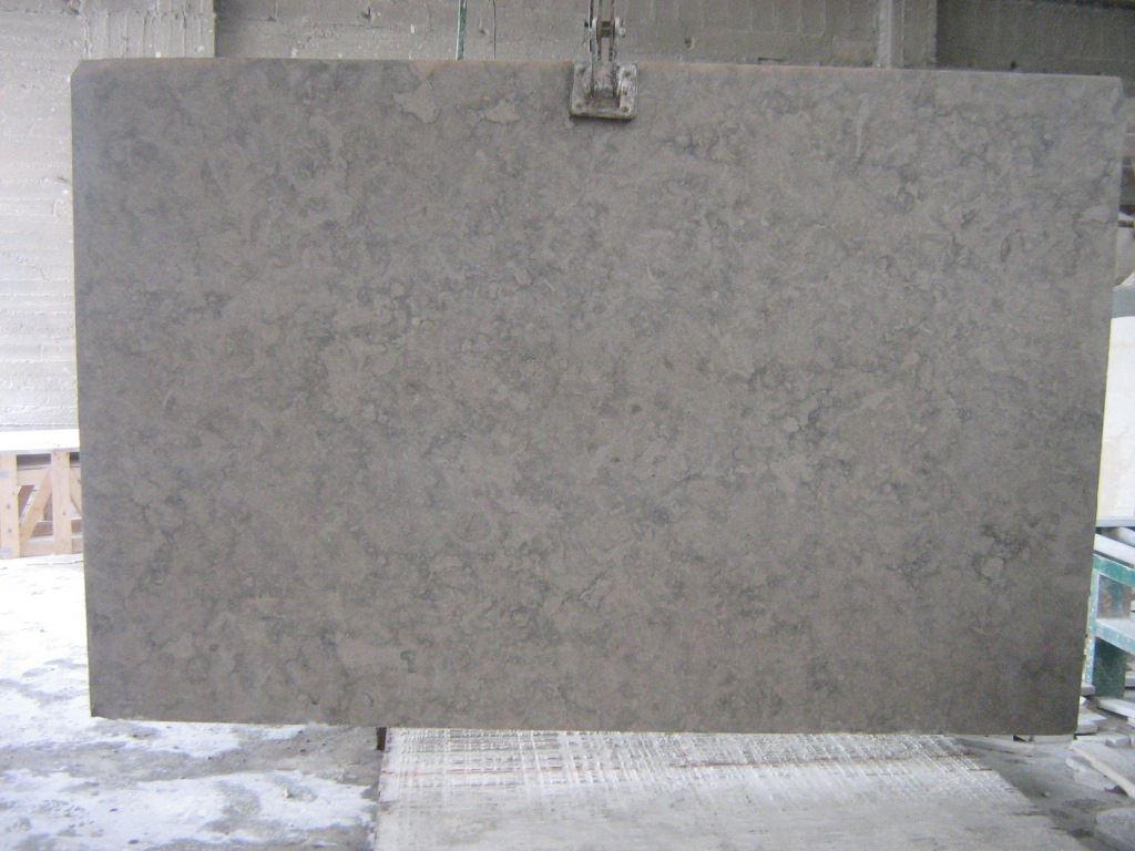 Deep Blue Slab Israel Grey Limestone Slabs
