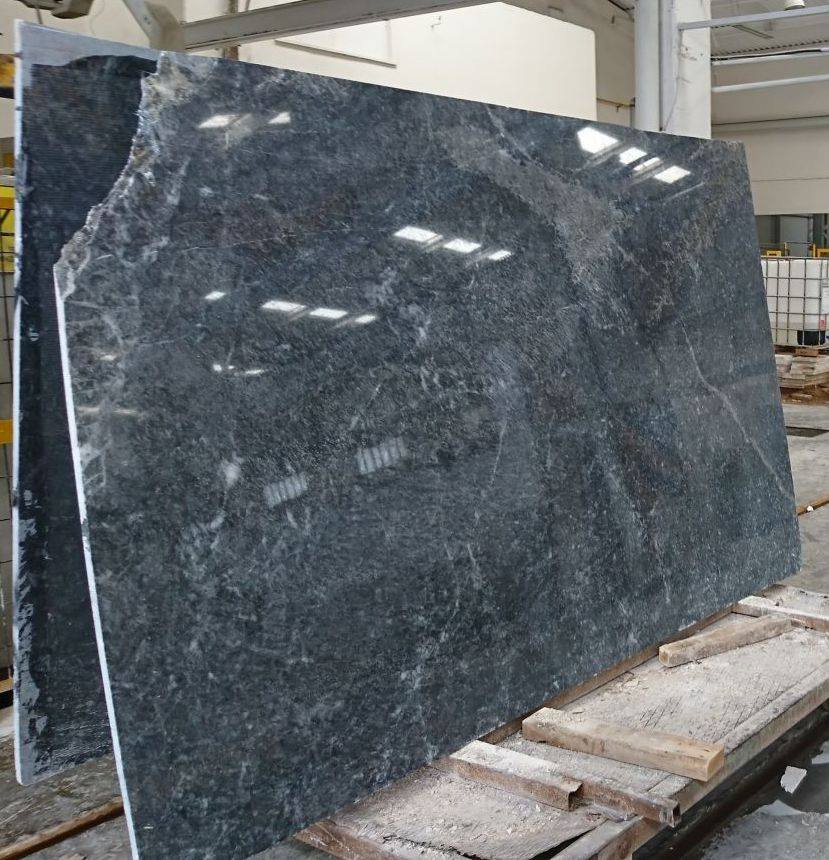 Deep Blue Stone Marble Polished Marble Slabs