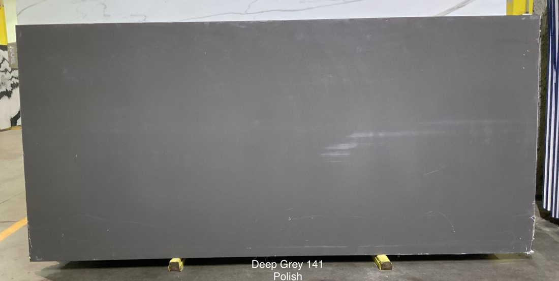 Deep Grey Quartz Indian Polished Grey Quartz Slabs