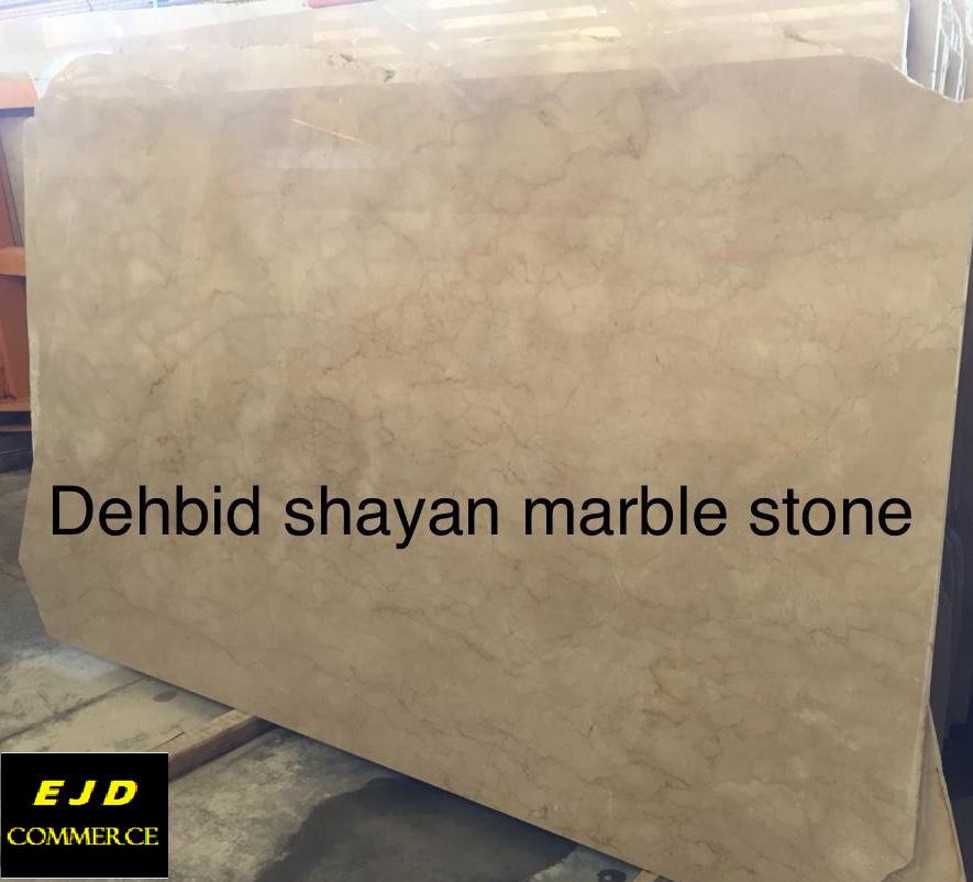 Dehbid Shayan Marble Stone Slabs Polished Beige Marble Slabs