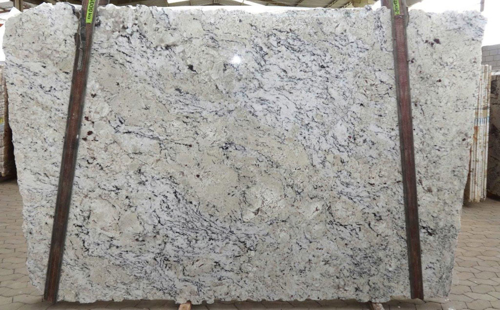Delicatus Cream Granite Slabs Polished White Granite Stone Slabs