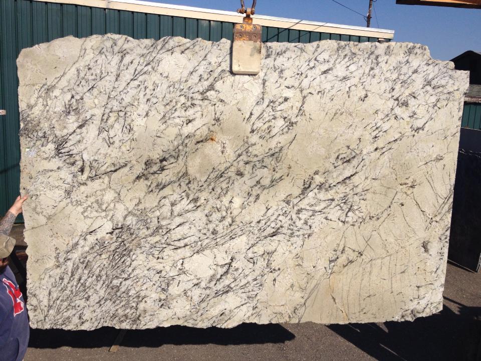 Delicatus White Granite Slabs Brazilian White Polished Granite Slabs