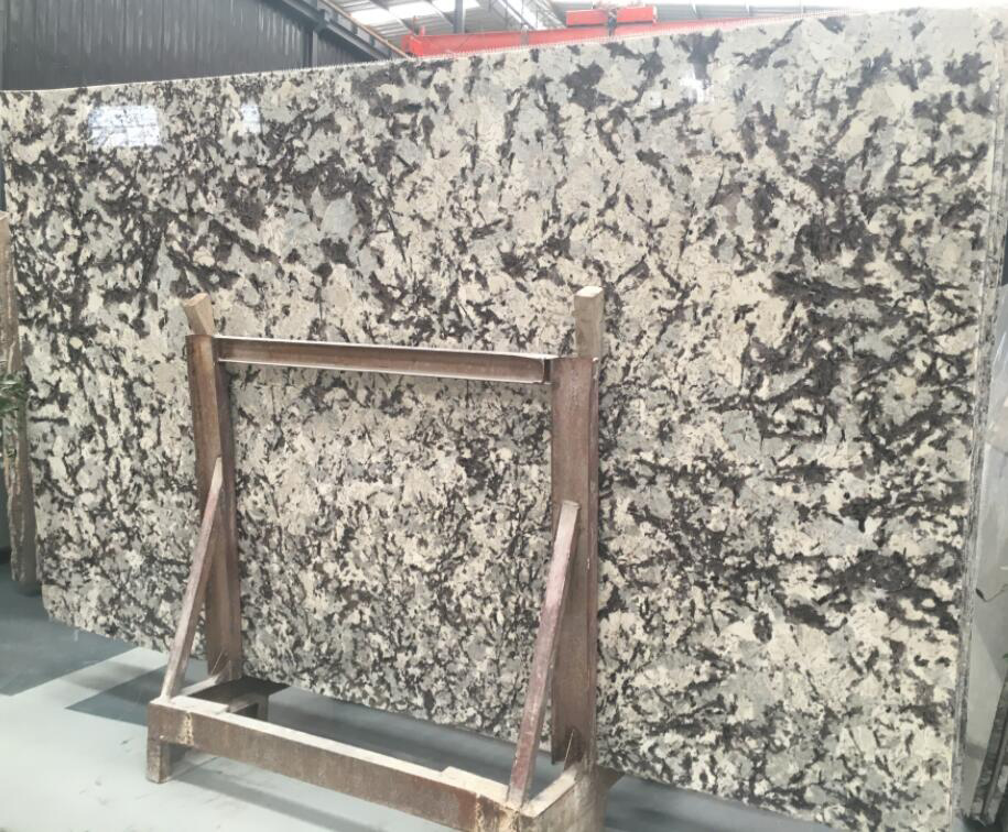 Delicatus White Granite Slabs Polished Brazilian White Slabs