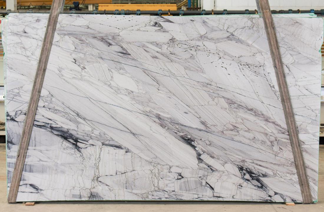 Deluxe Quartzite Slabs Brazil White Polished Stone Slabs