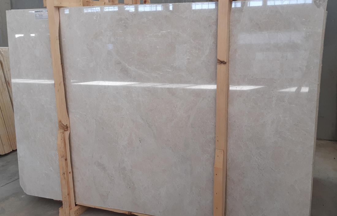 Demiraglar Orion Beige Polished Marble Slabs