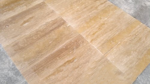 Denizli Vein Cut Travertine Slabs and Tiles