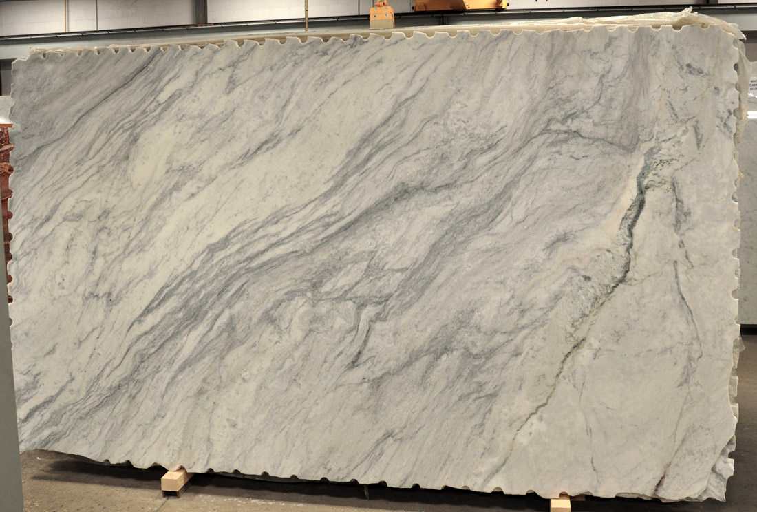 Derby Marble Slabs White Honed Marble Stone Slabs