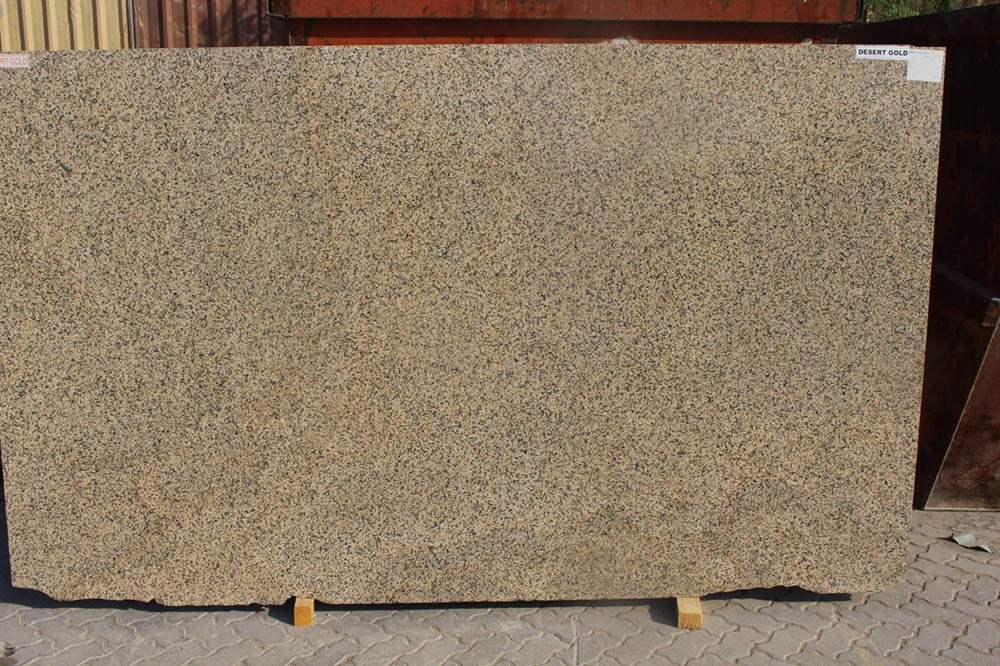 Desert Gold Granite Slabs Indian Beige Granite Slabs