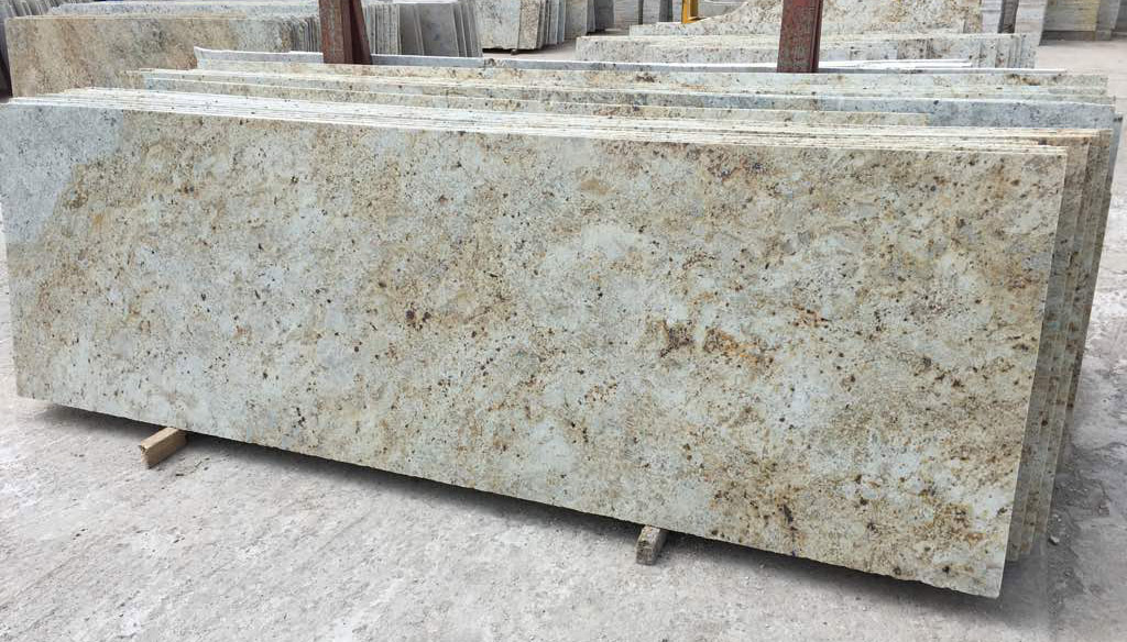 Desert Gold Granite Slabs Top Quality Beige Granite Stone Slabs