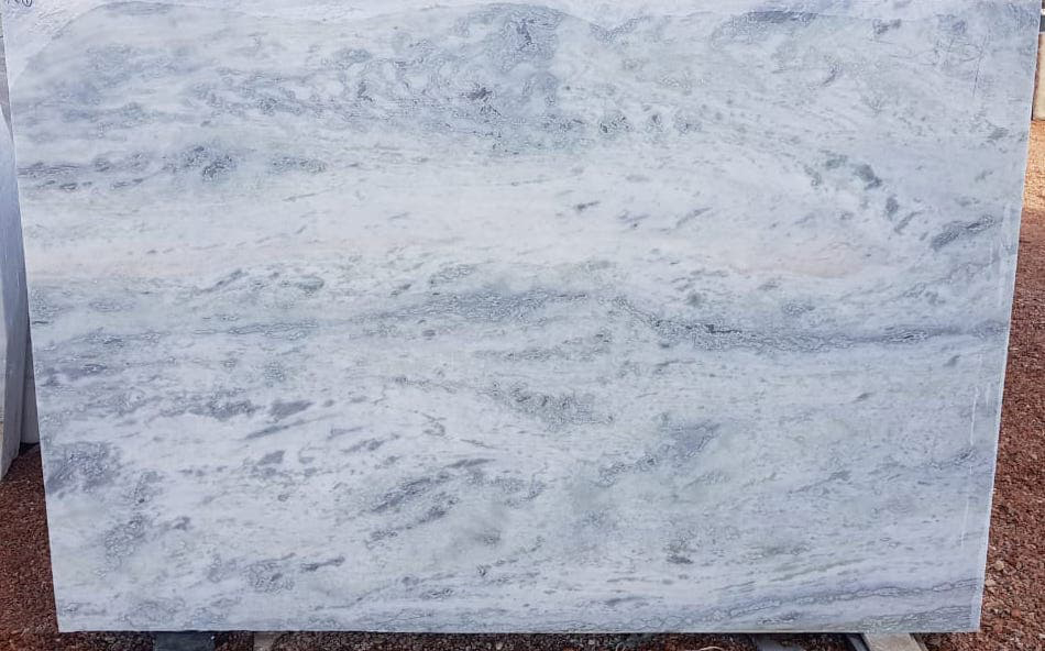 Dharmeta White Marble Slabs Indian Polished White Marble Slabs
