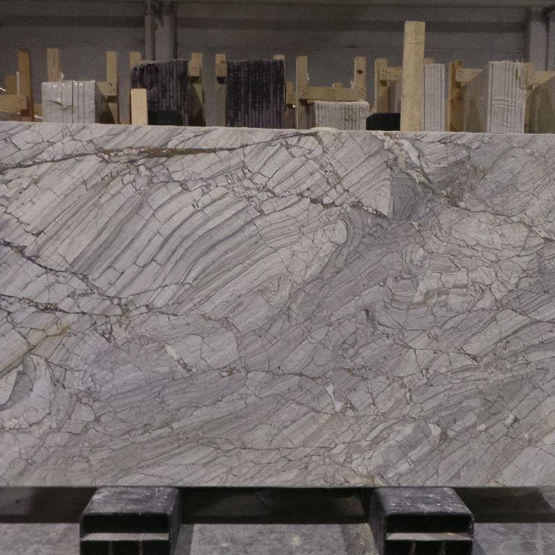 Diamond Grey Colored Marble Slab