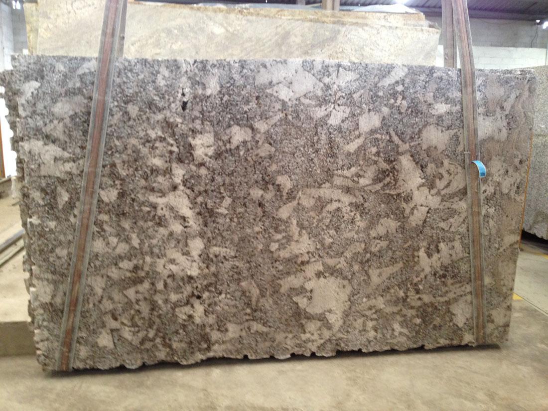 Diamond White Granite Slabs