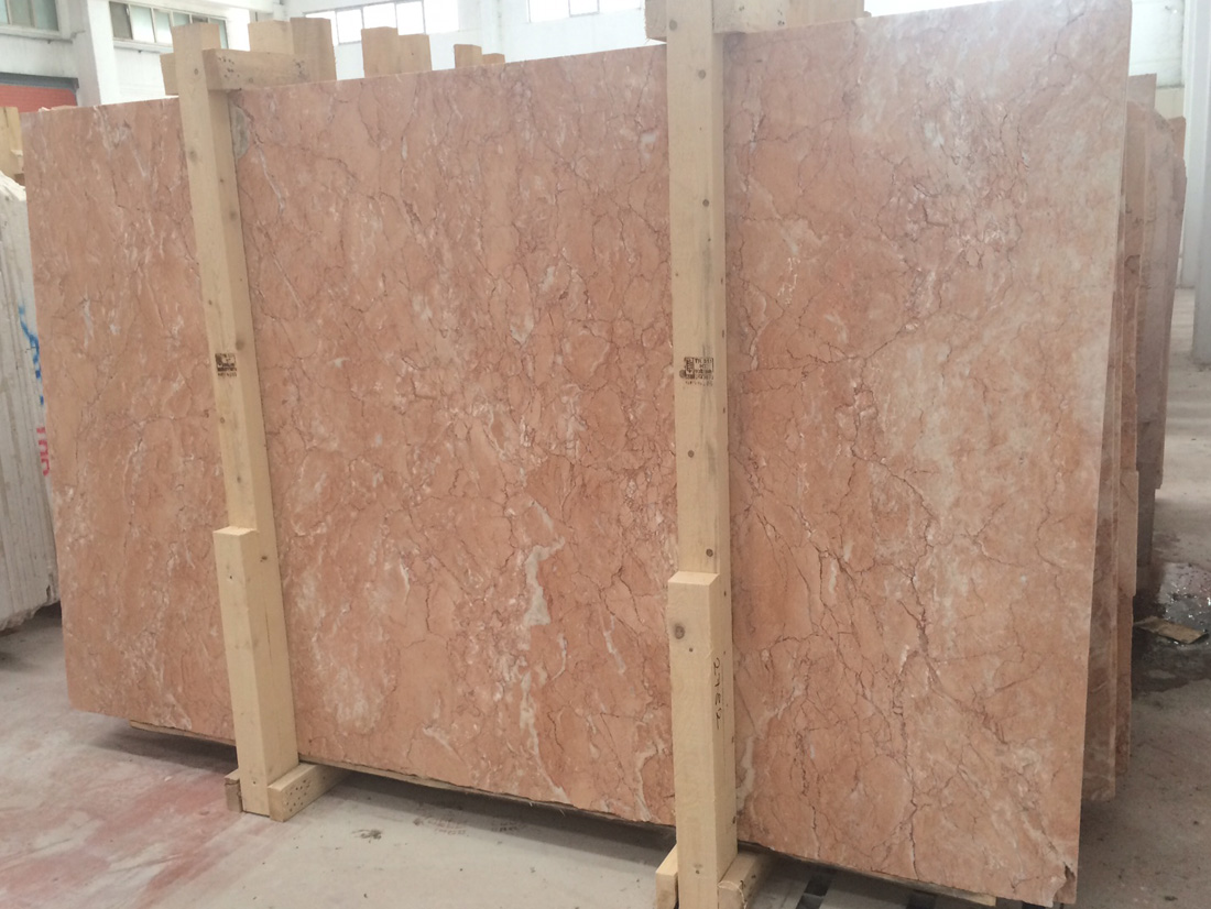 Diana Roza Marble Slabs Turkish Polished Pink Marble Slabs