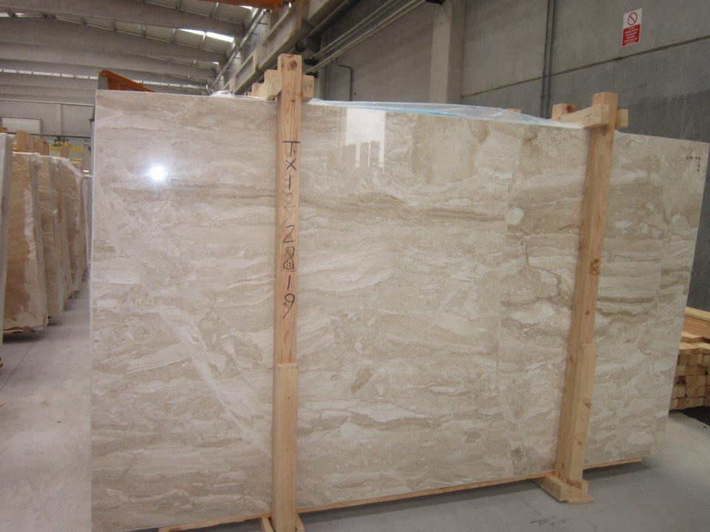 Diane Royal Marble Slabs Beige Italian Marble Stone Slabs for Walls