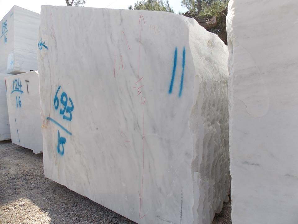 Dionysso Pentelicon Marble Blocks from Greece