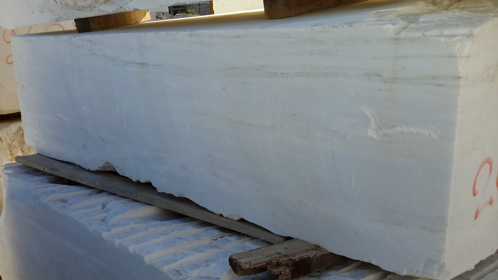 Dionyssos Blocks Natural White Marble Blocks