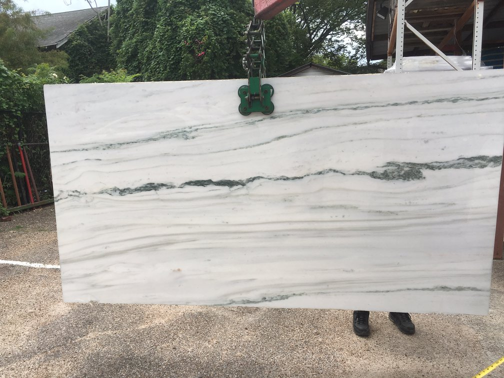 Dionysus Slab Polished White Marble Slabs from Greece