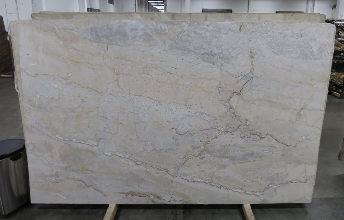 Dolce Vita Quartzite Stone Slabs Polished Beige Quartzite Slabs