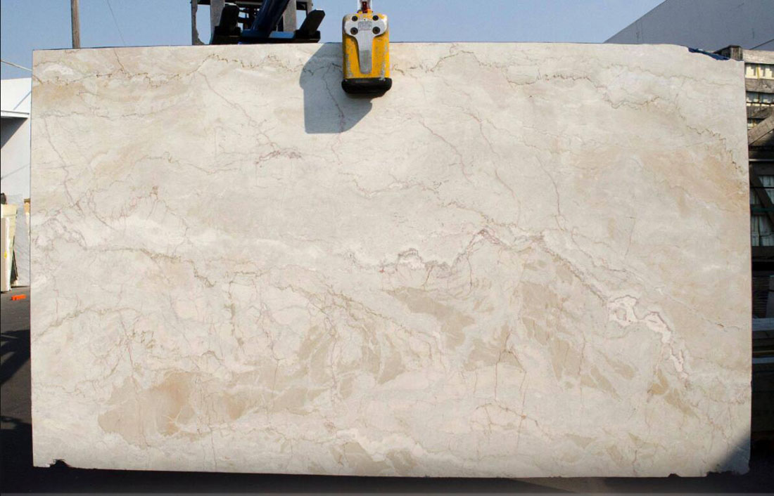 Dolce Vita White Quartzite Slabs from Brazil