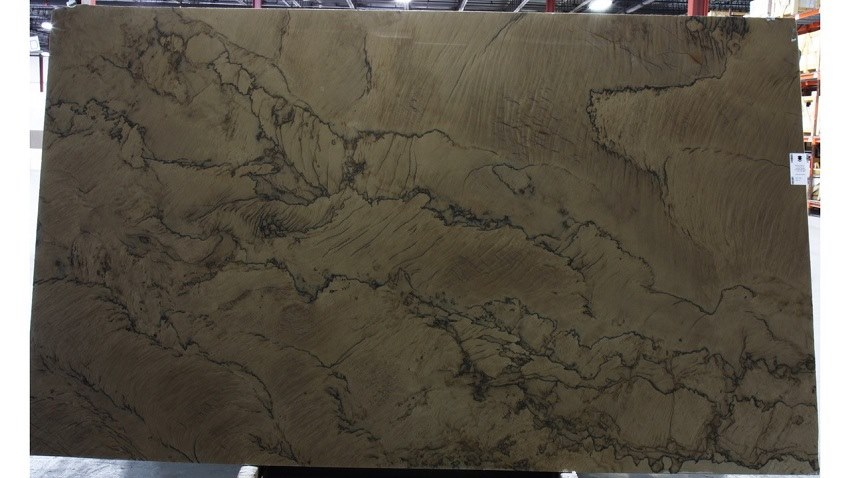 Double Brown Quartzite Slabs for Kitchen Countertops