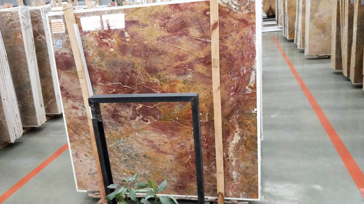 Dragon Red Marble Slabs and Tiles