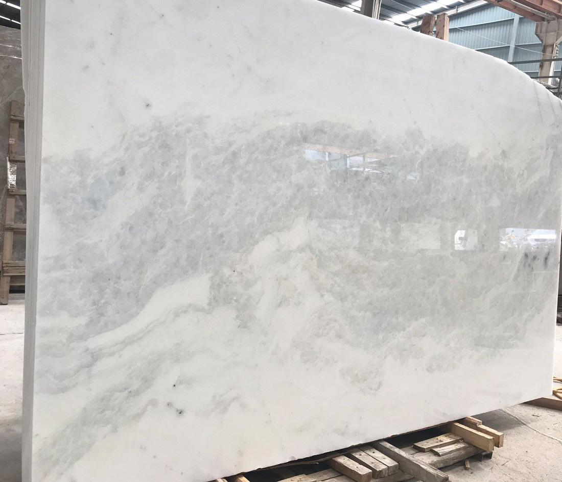 Dream White Polished Slab Affordable Marble Slabs