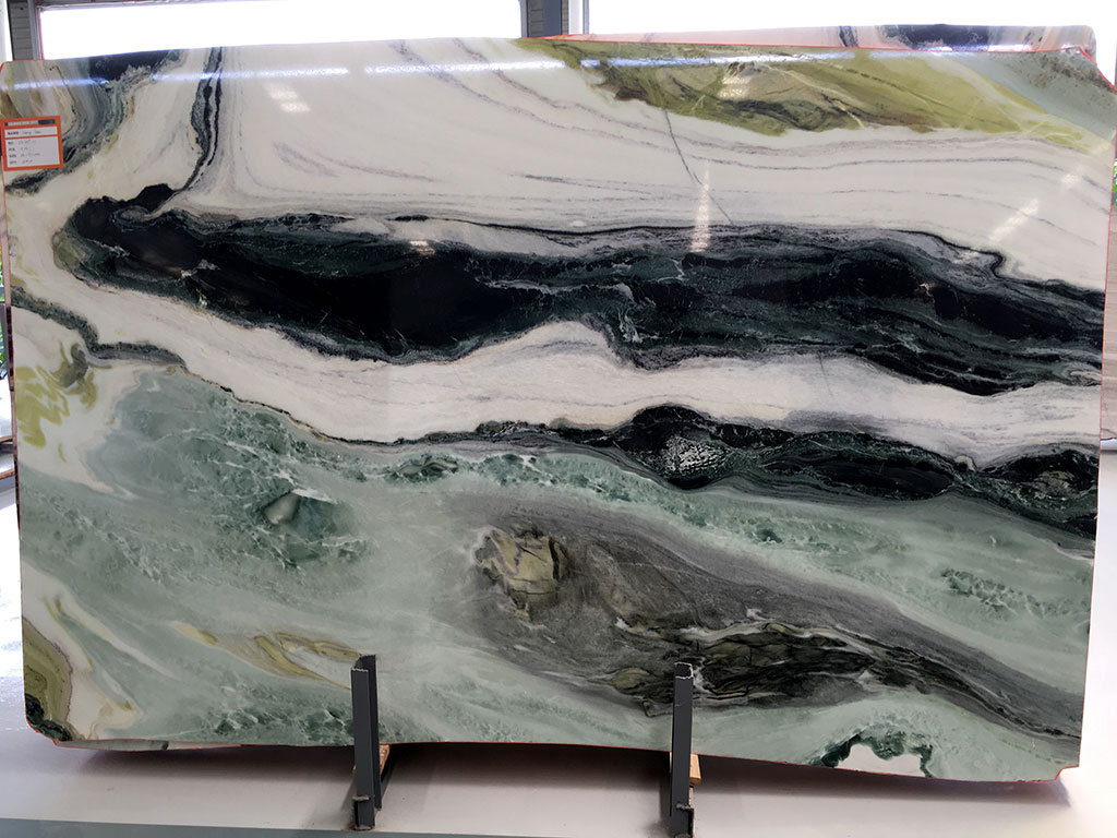Dreaming Green Slabs Polished Marble Slabs