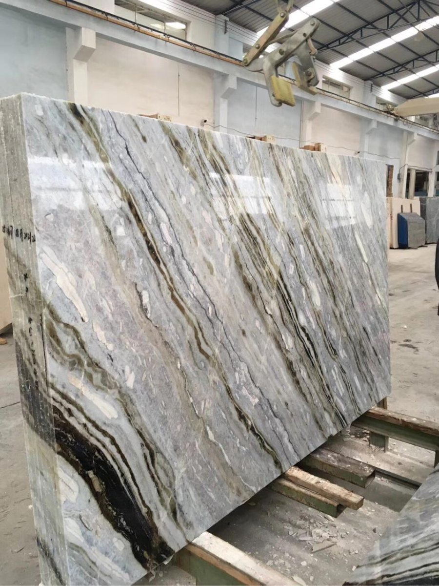 Dreamy Blue Slabs