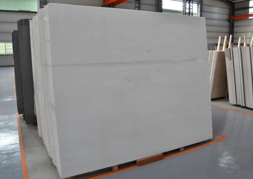Duna White Dolomite Slabs Turkish White Polished Marble Slabs