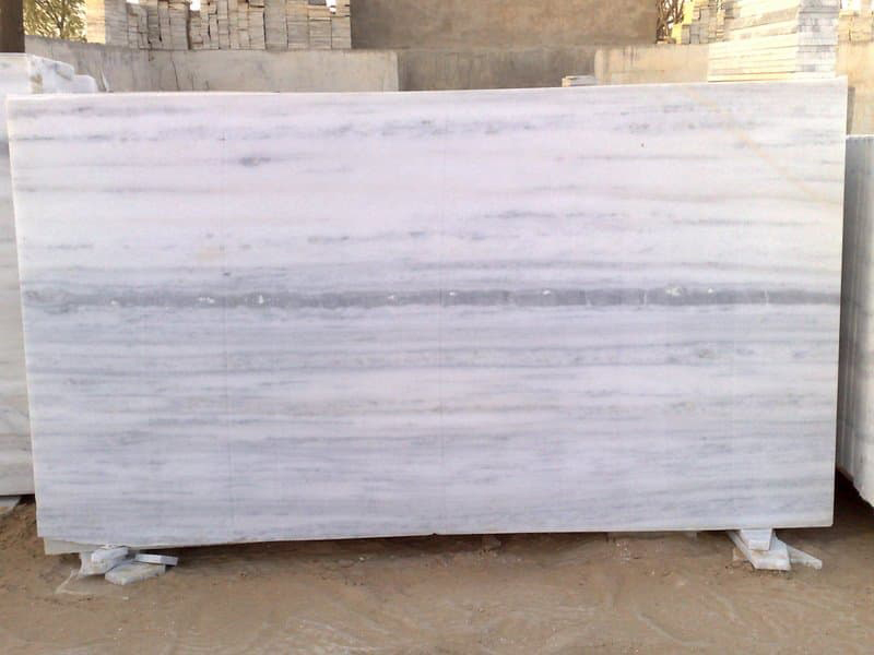 Dungri Marble Slabs Indian Polished White Marble Slabs
