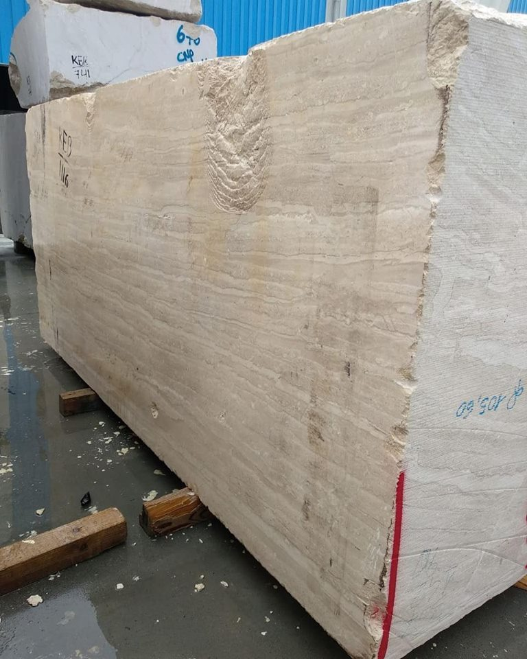 Dyna Marble Beige Marble Blocks from Indian Supplier