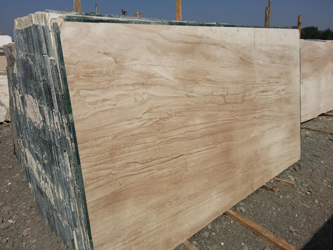 Dyna Marble Slabs Brown Marble Polished Slabs from Italy