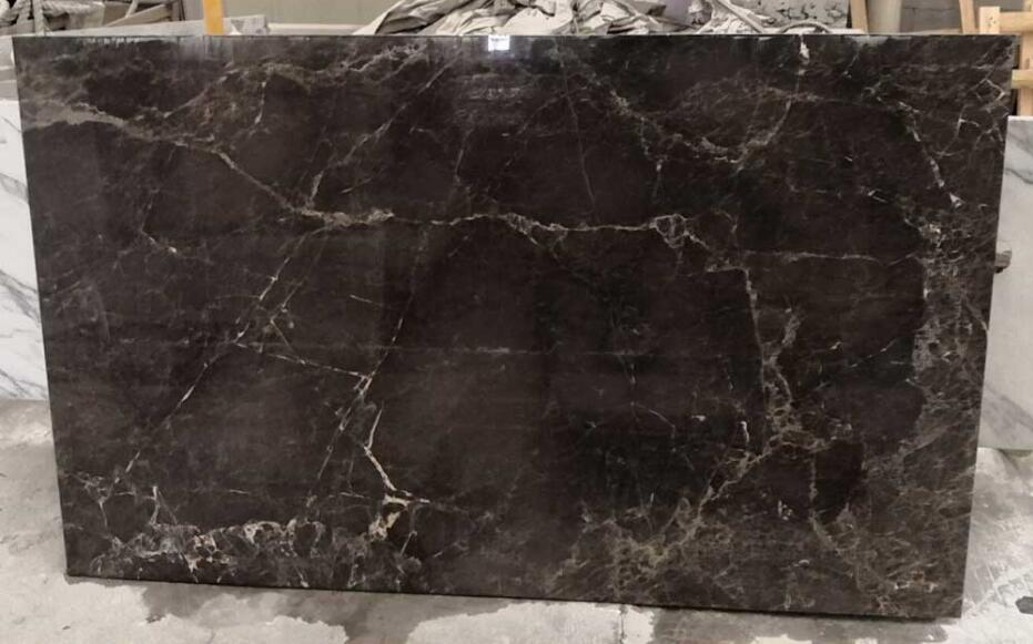 Dynanic Grey Marble Slabs Polished Natural Stone Slabs