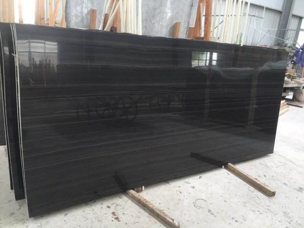 EMPIRE BLACK Marble in Blocks Slabs Tiles