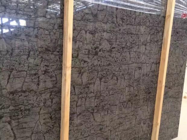 EMPIRE GREY WOOD Marble in Blocks Slabs