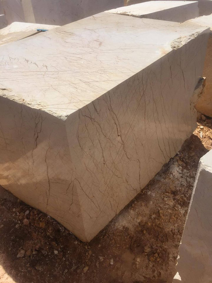 Eagle Beige Marble Natural Stone Blocks