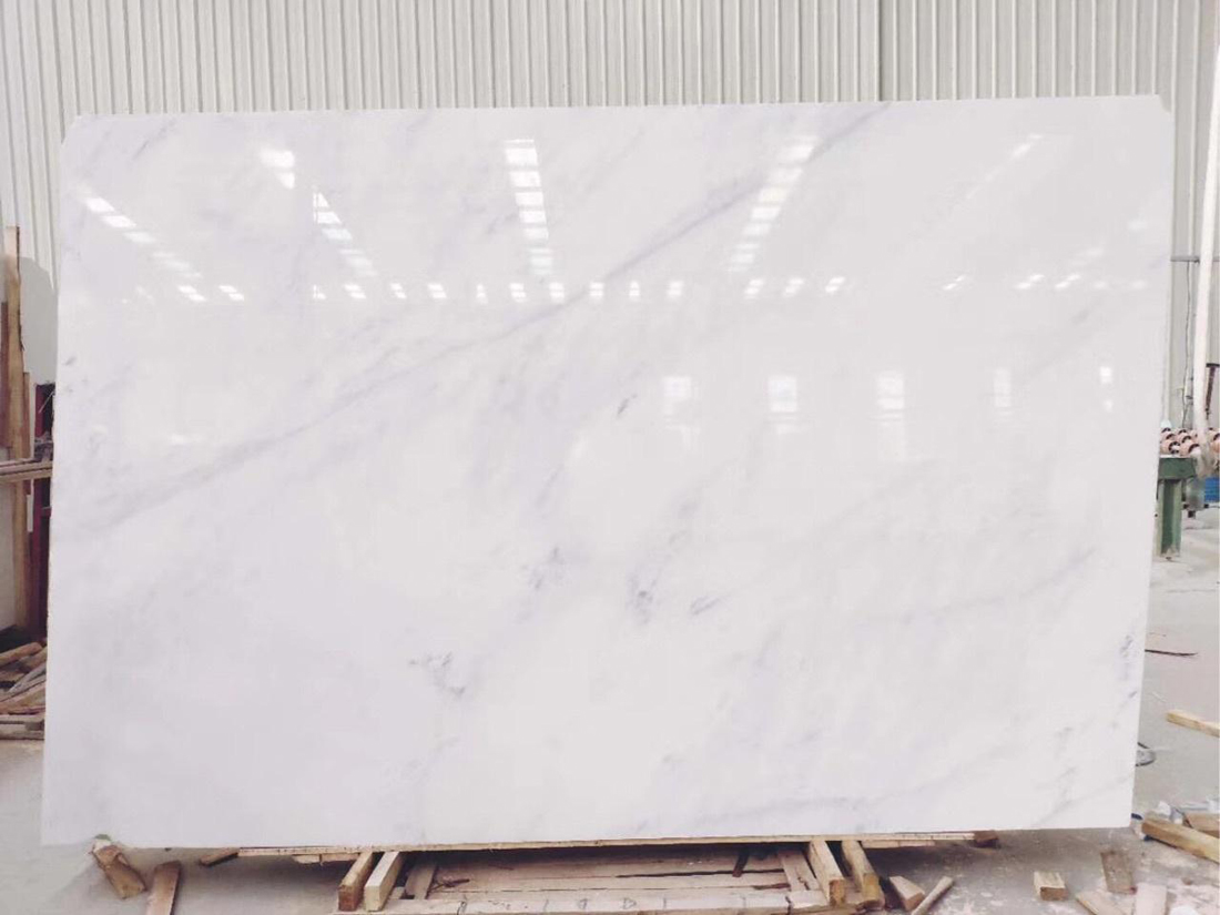 Eastern White Marble Polished Slabs from China Supplier