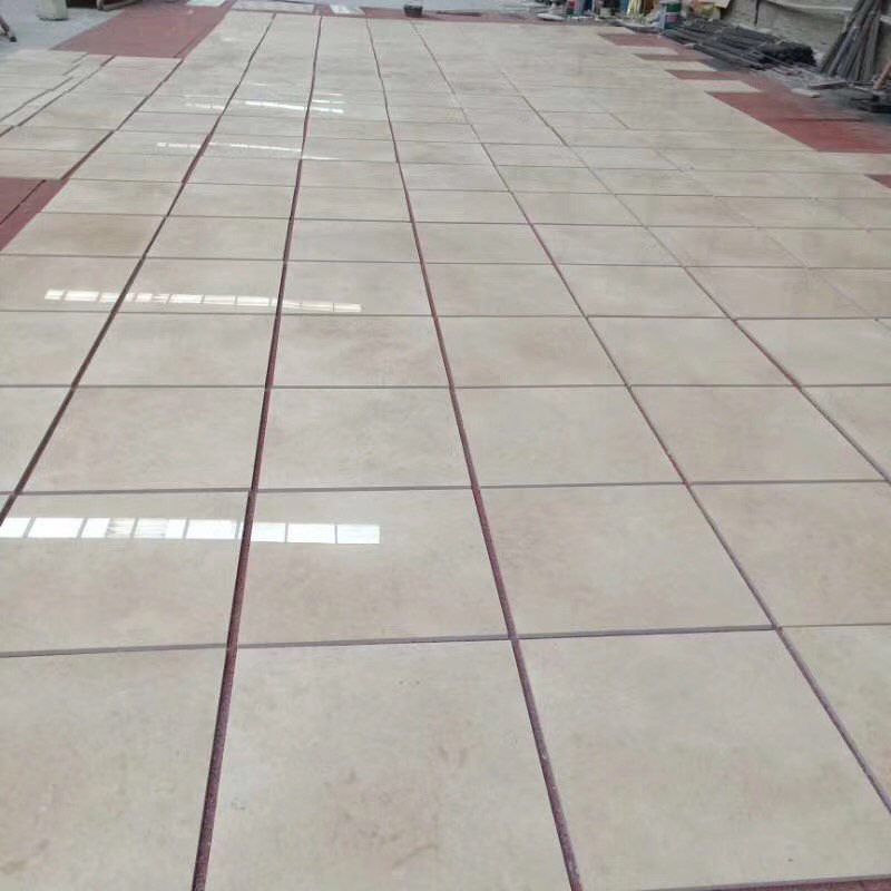 Egyptian Galala Beige Polished Marble Flooring Tiles