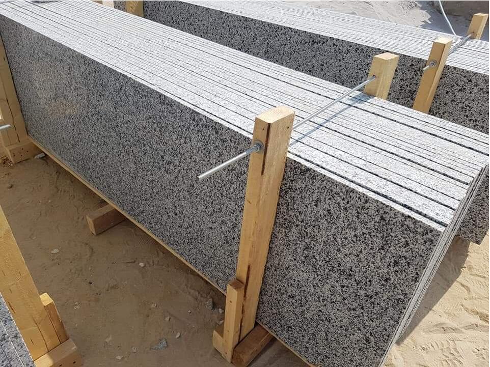 Egyptian Granite New Halayb White Granite Slabs