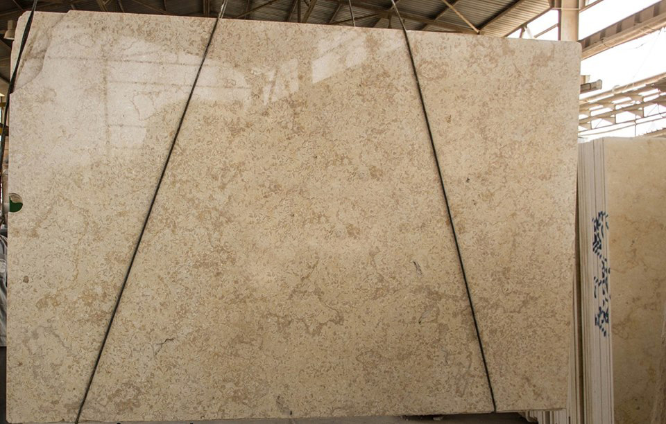 Egyptian Menia Flower Marble Polished Yellow Marble Slabs