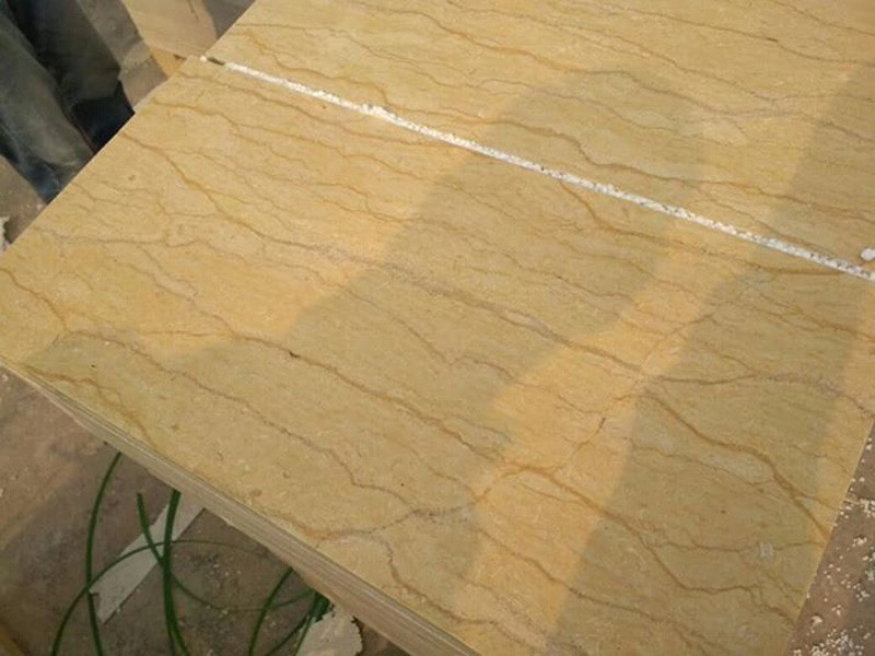 Egyptian Yellow Marble Tiles for Flooring