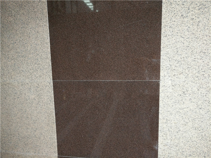 Electrolytic Classic Brown Granite Polished Tiles